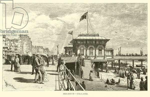 Brighton, England (engraving)