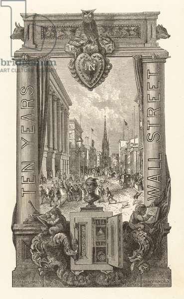 Ten Years in Wall Street (engraving)