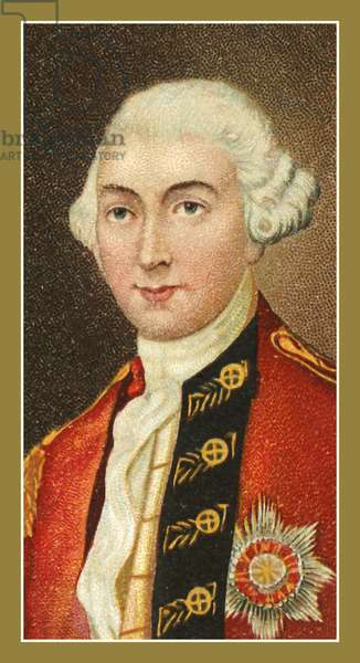 Jeffrey, first Baron Amherst, KB, 1717-1797, by T Gainsborough (colour litho)
