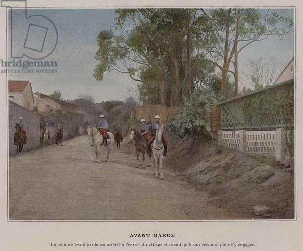 Avant-Garde (coloured photo)