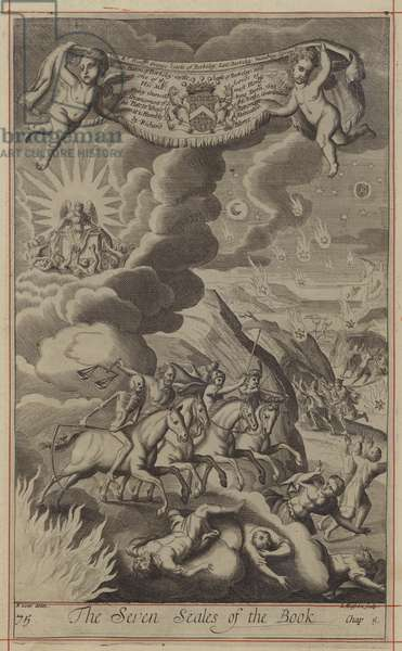The Seven Seales of the Book (engraving)