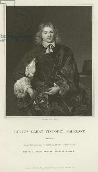 Lucius Cary, Viscount Falkland (engraving)
