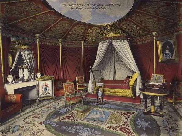 Malmaison: Chambre De L'Imperatrice Josephine; The Empress Josephine's bed-room (photo)
