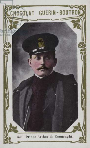 Prince Arthur de Connaught (coloured photo)