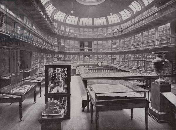 The Geological Museum, Piccadilly (b/w photo)