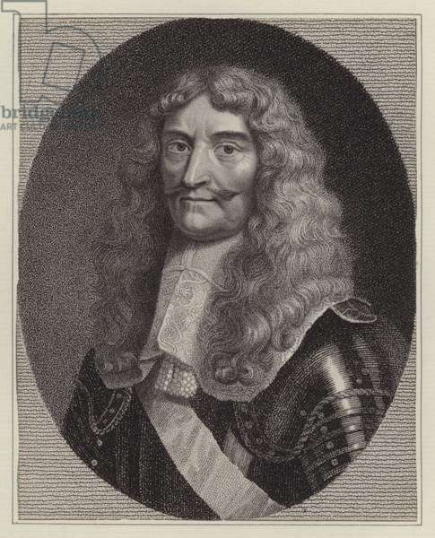 Michel de Grammont, French pirate (engraving)