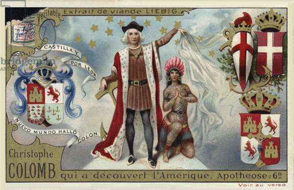 Christopher Columbus, discoverer of America (chromolitho)