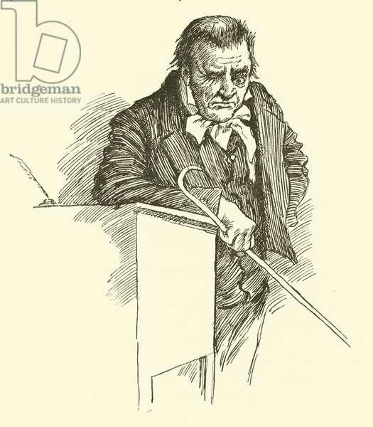 Mr Squeers (engraving)