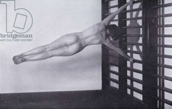 The Body Beautiful, Physical Culture for Women (b/w photo)