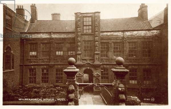 Wilberforce House, Hull (b/w photo)