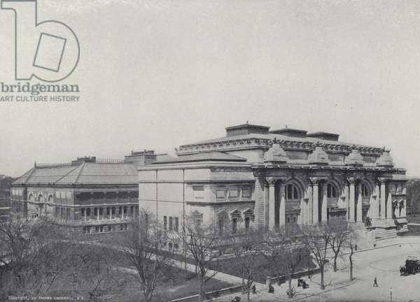 New York: The Metropolitan Museum of Fine Arts (b/w photo)