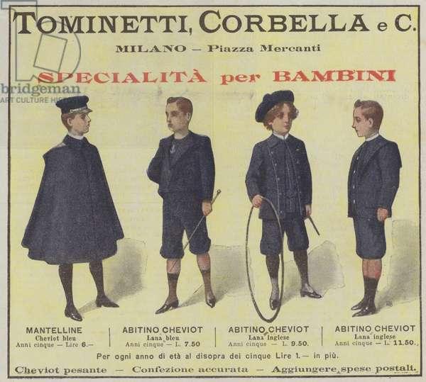 Tominetti, Corbella e C (colour litho)