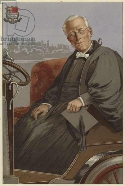 A Great Headmaster (colour litho)