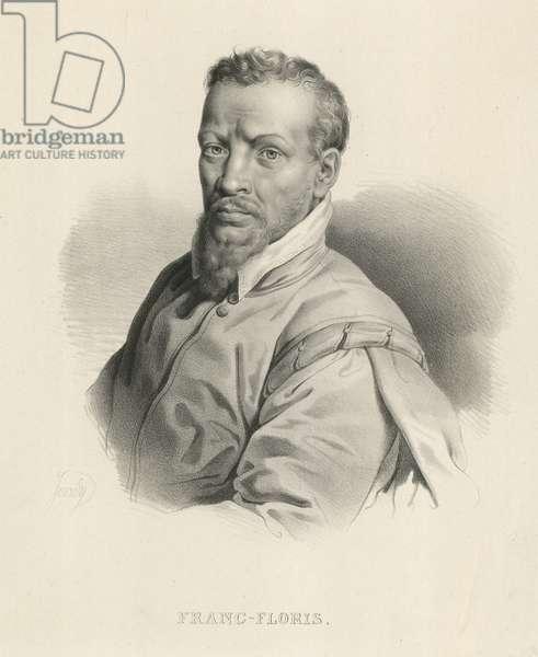 Frans Floris, Flemish artist (litho)