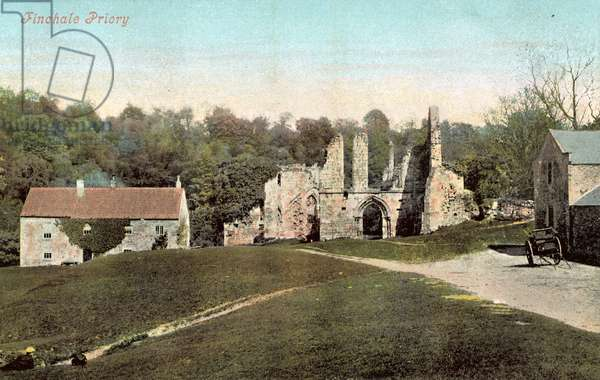 Finchale Priory (colour photo)