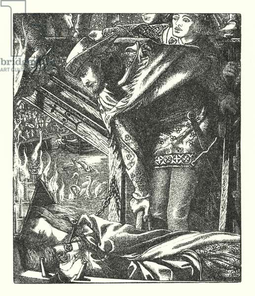 The Lady of Shalott (engraving)