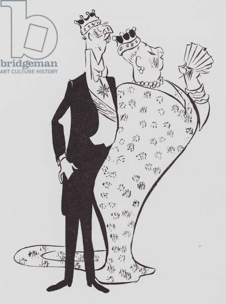 The Duke and Duchess (litho)
