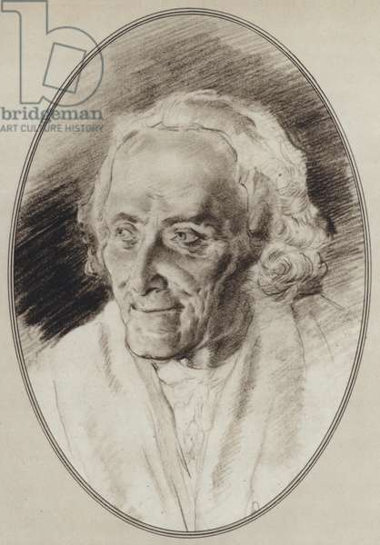 Portraits of Great Philosophers: Voltaire (litho)
