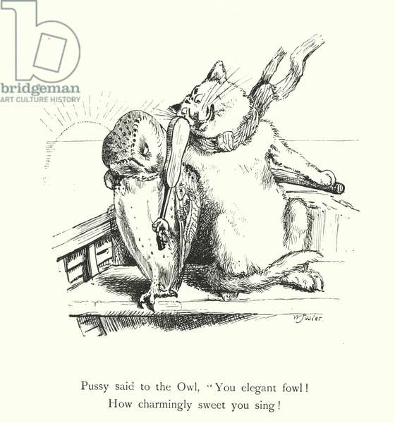 The Owl And The Pussy Cat (engraving)