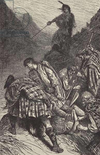 The murder of Morris (engraving)
