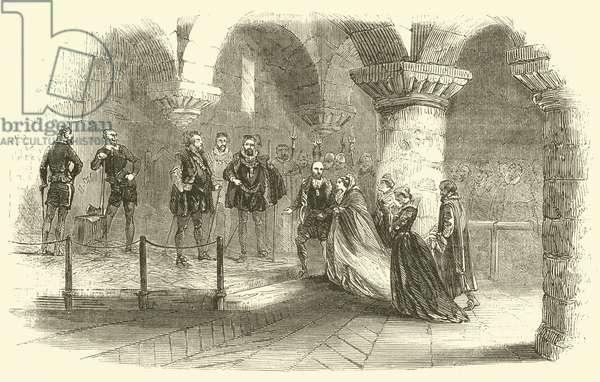 Fotheringay Castle (engraving)