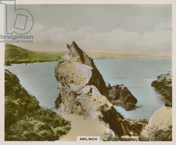 Amlwch (coloured photo)