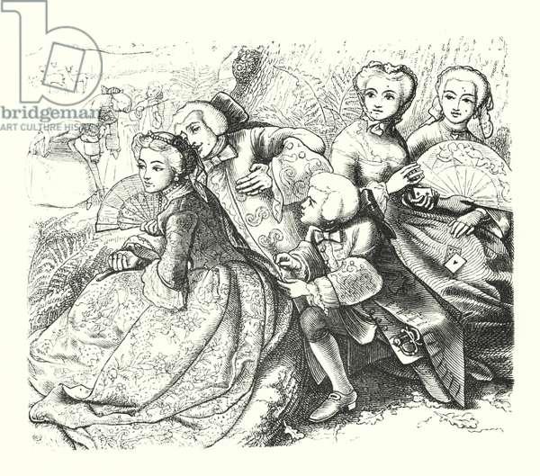 The Talking Oak (engraving)