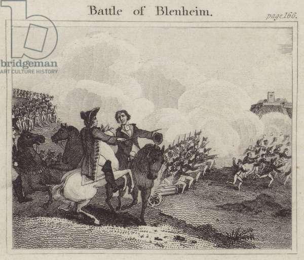 Battle of Blenheim (engraving)