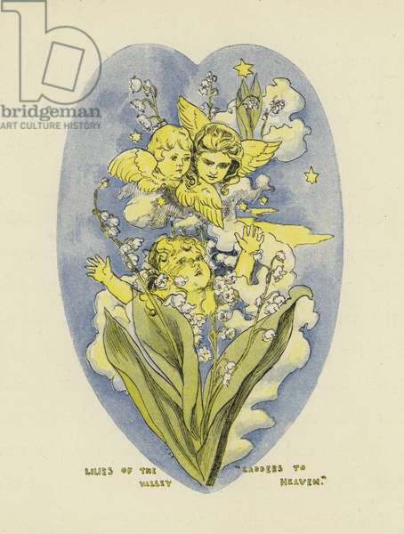 Lilies Of The Valley, Ladders to Heaven (colour litho)