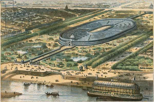 The Paris Exhibition of 1867 (coloured engraving)