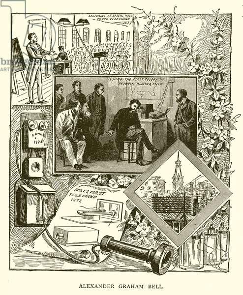 Alexander Graham Bell (engraving)