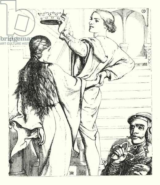 The Beggar Maid (engraving)