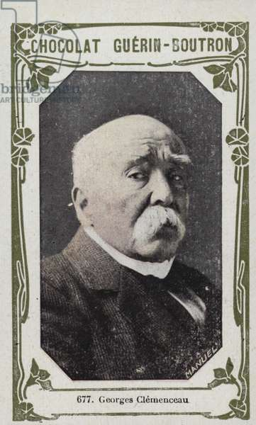 Georges Clemenceau (coloured photo)