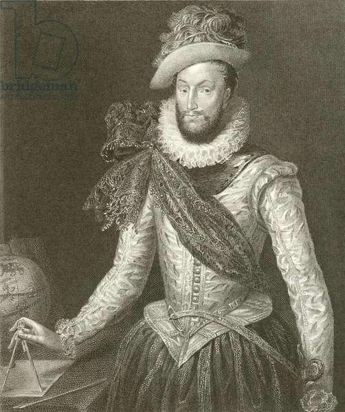 Sir Walter Raleigh (engraving)