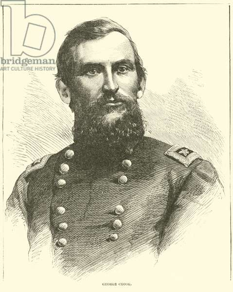 George Crook, September 1864 (engraving)