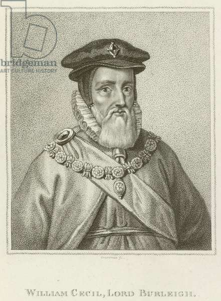 William Cecil, Lord Burleigh (engraving)
