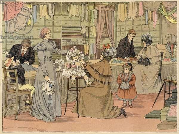 Bedford's Book of Shops: Milliner (colour litho)