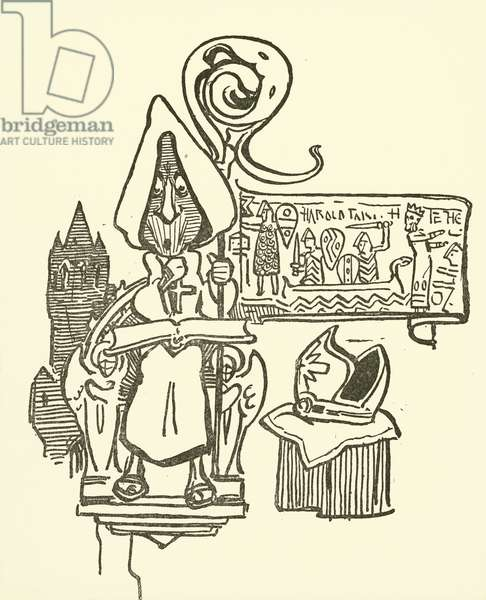 Odo of Bayeux (litho)