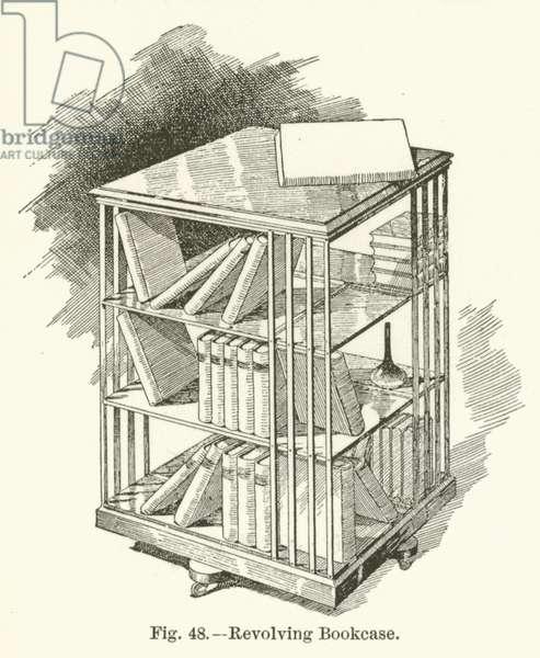 Revolving Bookcase (engraving)