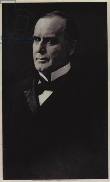 William McKinley (b/w photo)