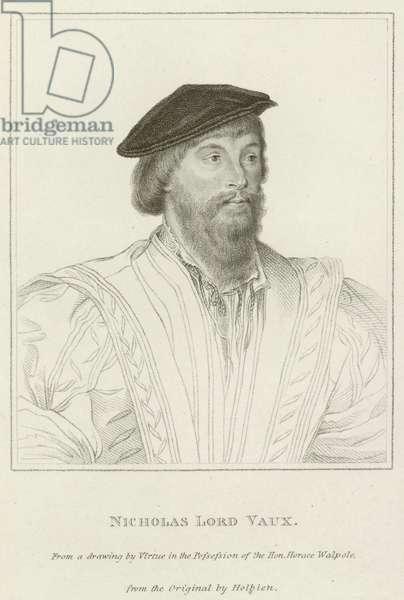 Nicholas, Lord Vaux (engraving)