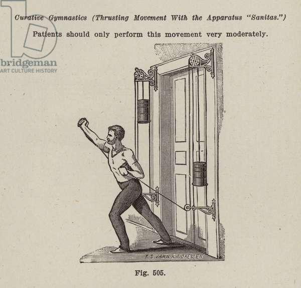 Gymnastic Apparatus (litho)