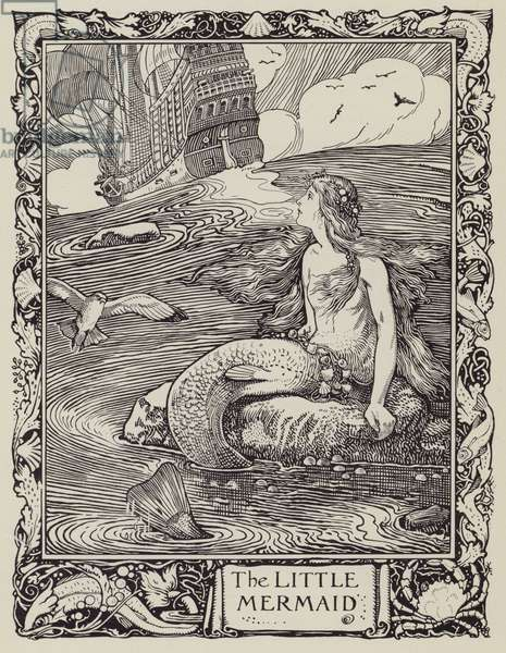 The Little Mermaid (litho)