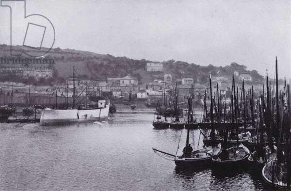 Cornwall: Newlyn (b/w photo)