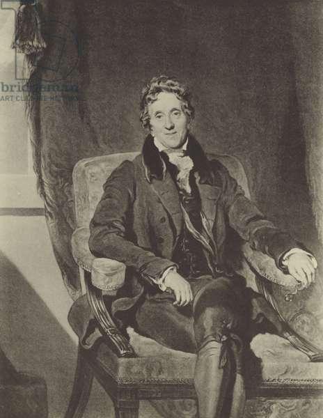 Sir John Soane (litho)