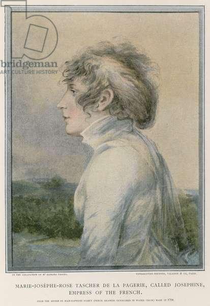 Marie-Josephe-Rose Tascher de la Pagerie (colour litho)