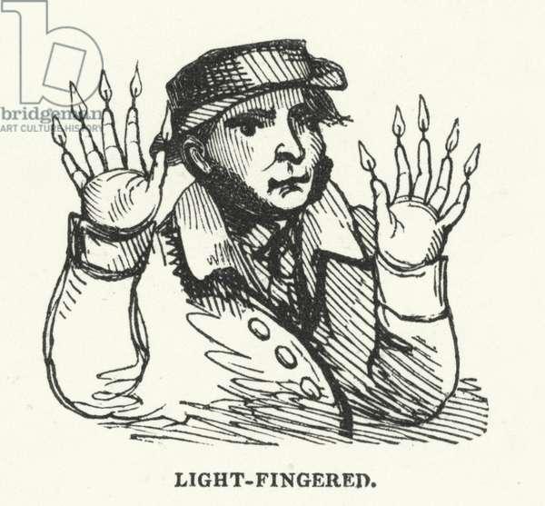 Light-fingered (engraving)