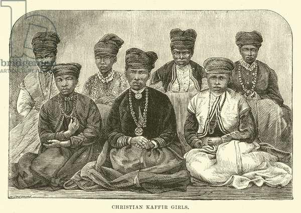 Christian Kaffir Girls (engraving)