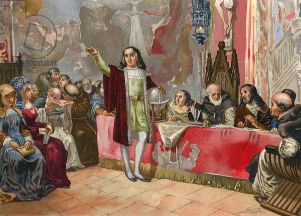 Columbus before the Junta of Salamanca