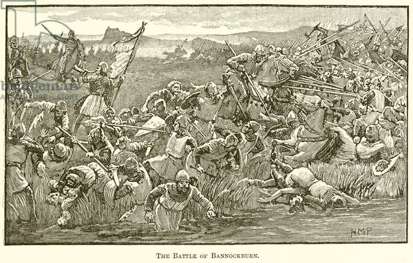 The Battle of Bannockburn (engraving)